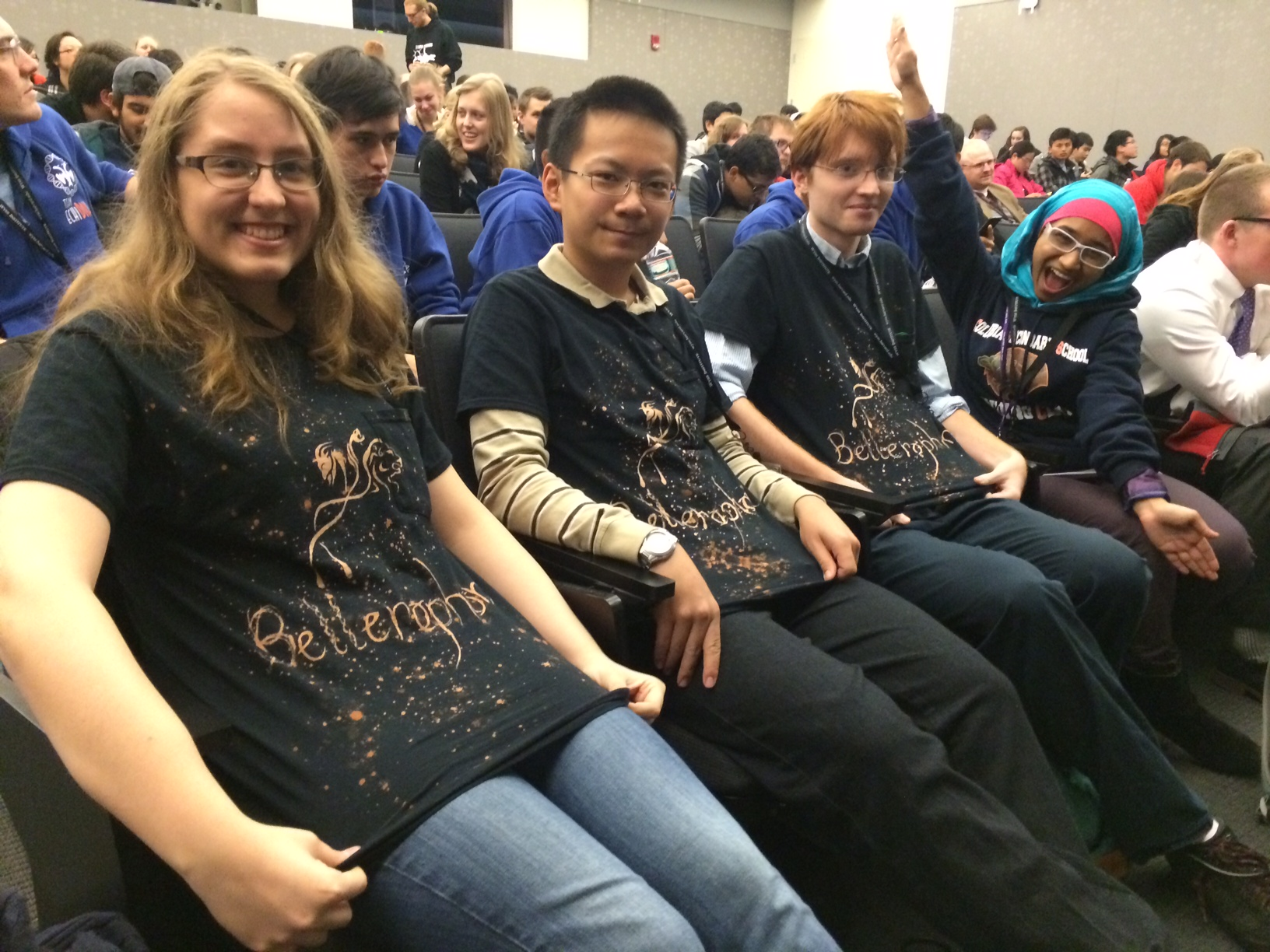 Team Bellerophon at the BIOMOD competition.