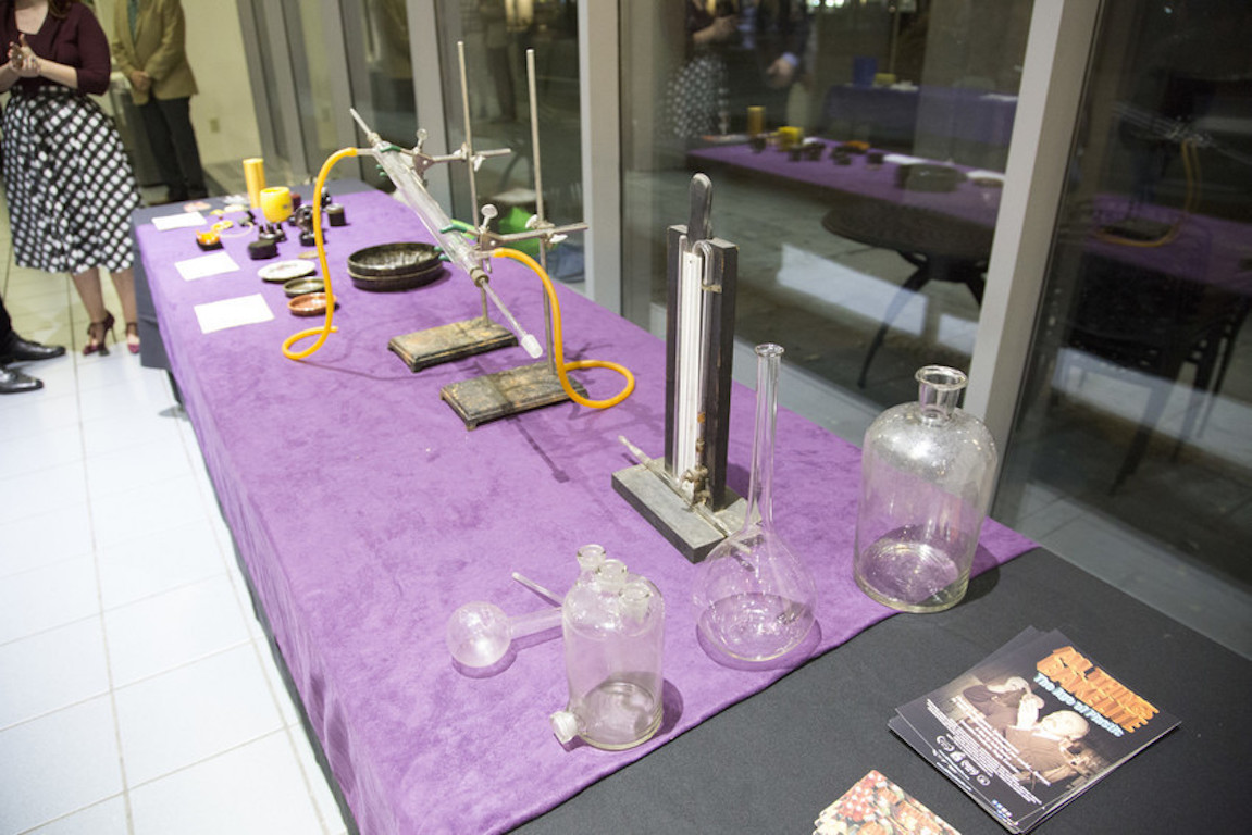 Bakelite plastics, artifacts and family hierlooms were on display for attendees to explore.