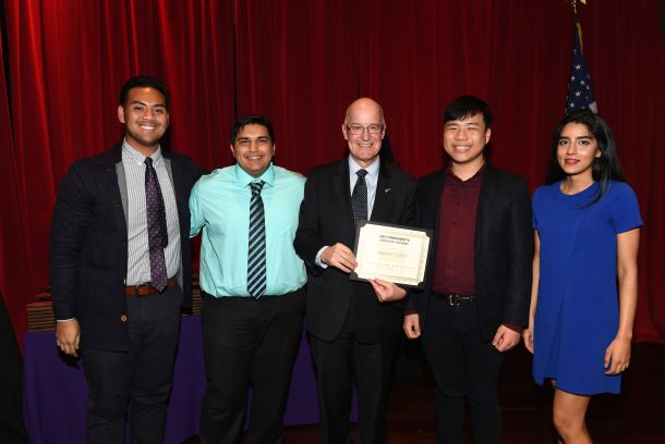 HackNYU at the 2017 President's Service Awards
