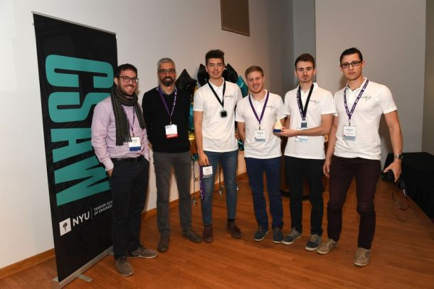 The team Grenoble INP-ESISAR has been traveling from France to compete in the CSAW Embeded Security Competition finals for five of the last six CSAW competitions