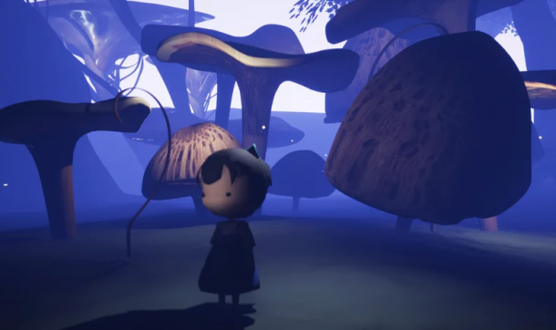 A screenshot of the Elsewhere in the Wood trailer