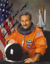 A signed portrait of Charlie Camarda. Source: Poly Archives