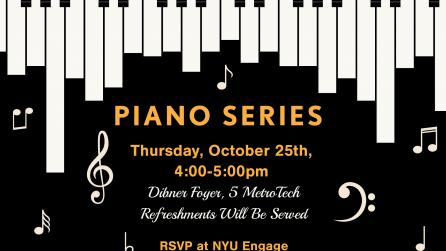 Image Description: Event flyer for Piano Series
