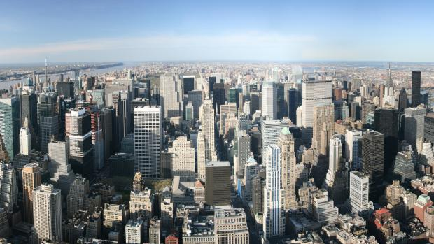 New York City ariel view