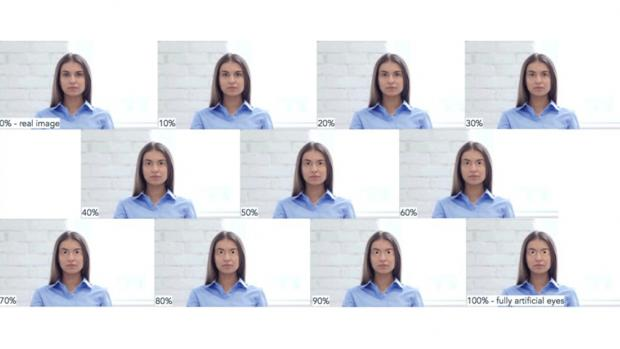 Facial Perception and the Uncanny Valley artificial eyes