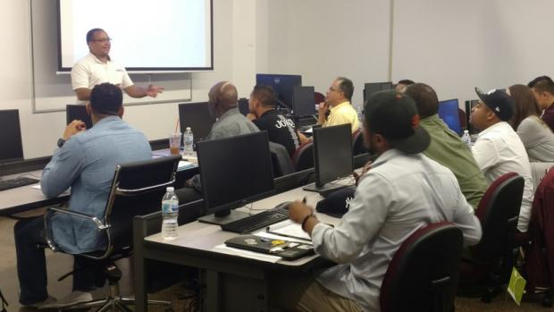 Veteran Entrepreneurship Training Program students