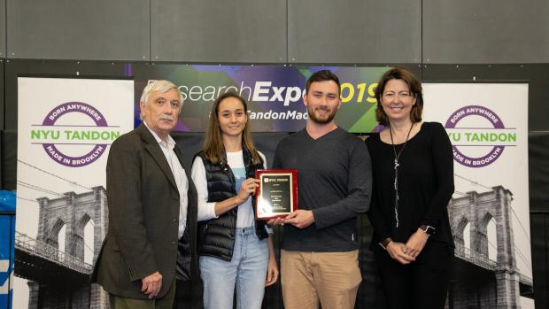 First Place Winners at 2019 Research Expo
