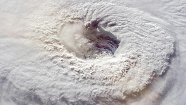 eye of hurricane