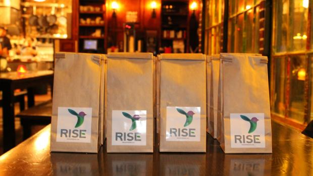 RISE bags of flour