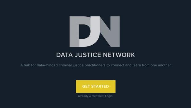 Data Justice Network Homescreen