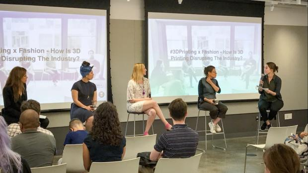3D printing fashion discussion panel