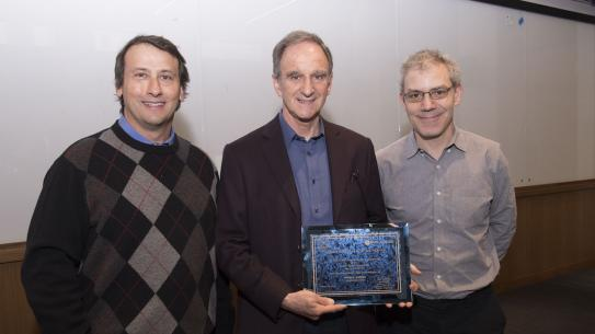 Ted Rappaport, Martin Hellman and Ivan Selesnick