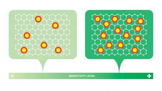 graphene sensitivity illustration