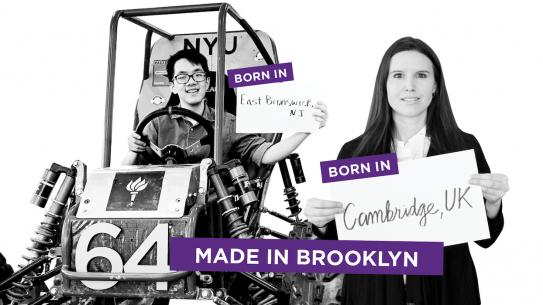 Made in Brooklyn: 2 Tandon students