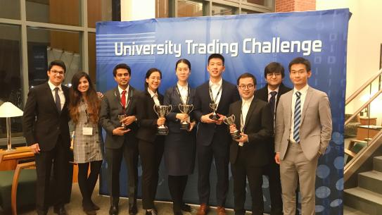 Group shoot of FRE teams with trophies