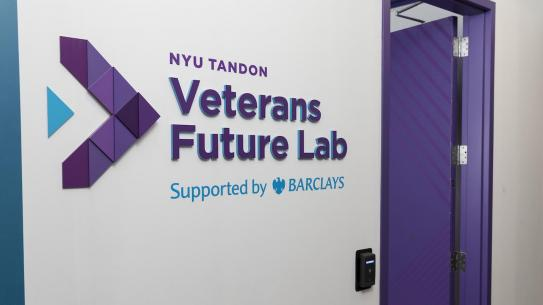 door to Veterans Future Lab