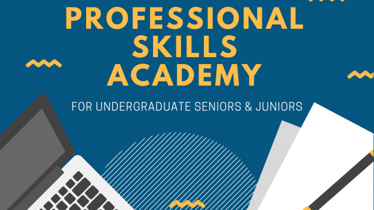 Professional Skills Academy promo graphic