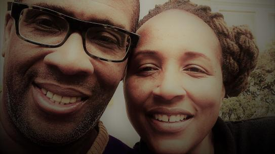 Erica King-Toler and her husband