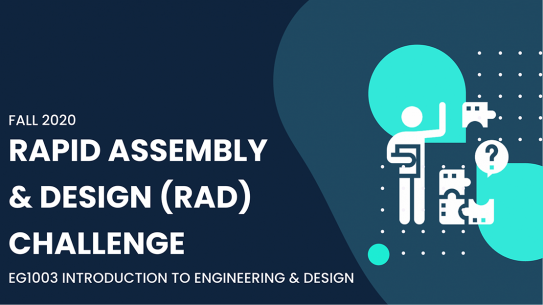 Rapid Assembly and Design Challenge poster