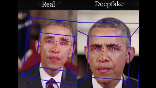 Real and Deepfake of Barack Obama