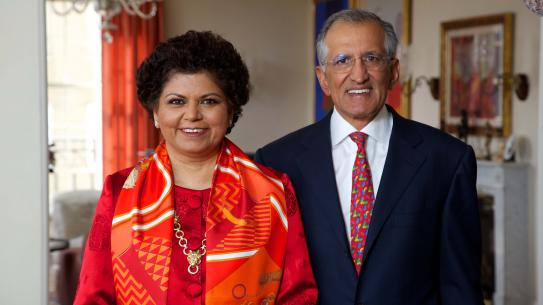Chandrika and Ranjan Tandon