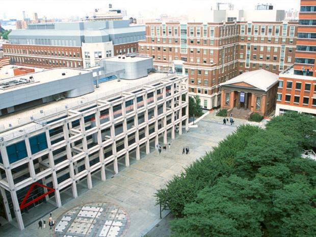 NYU Tandon campus aerial view