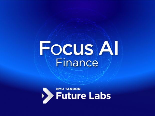 Banner with Future Labs Focus AI graphics and branding