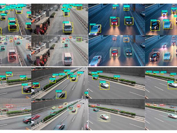 Software analyzing vehicles driving by