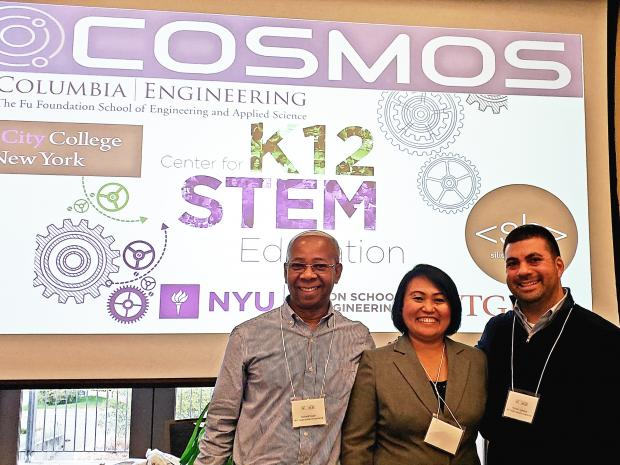 Educators at the COSMOS program
