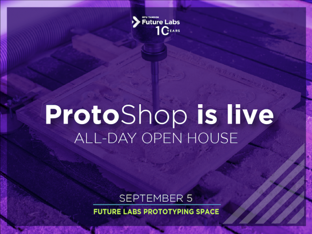 Future Labs ProtoShop launch banner