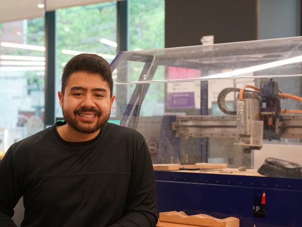 brandon diaz in Makerspace