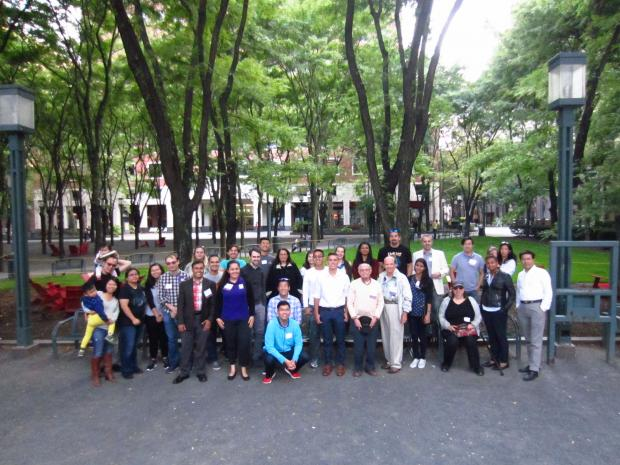 ASCE Annual Alumni BBQ Group Picture