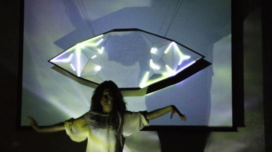 "Interactive dance performance, ""Land of Mirrors"""