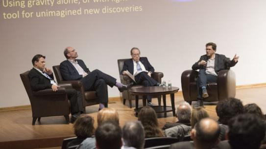 discussion at lynford lecture