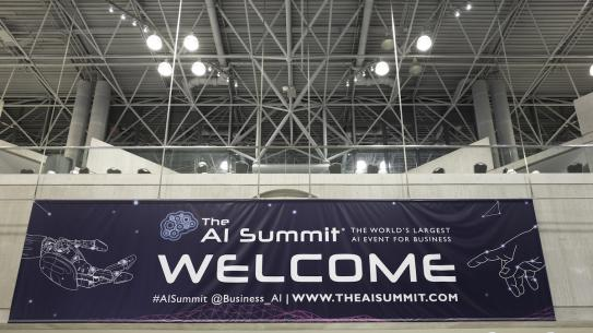 AI Summit banner
