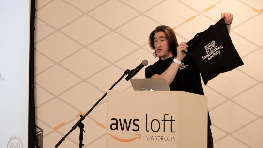 Presentation from AWS Loft at Innovention