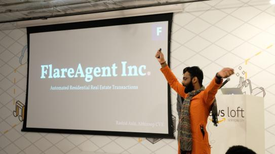 Presentation from FlareAgent at Innovention