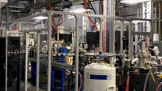 National Synchrotron Light Source (NSLS II), which allows researchers to pursue discoveries in clean and affordable energy, high-temperature superconductivity, molecular electronics, and more