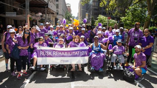 NYU Rusk Rehabilitation attendees