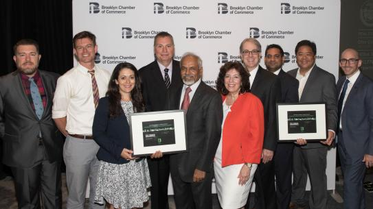 Brooklyn Chamber of Commerce celebrated the contributions of Dean Katepalli Sreenivasan