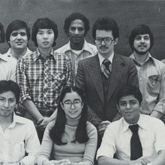 Association of Latin American Students yearbook photo