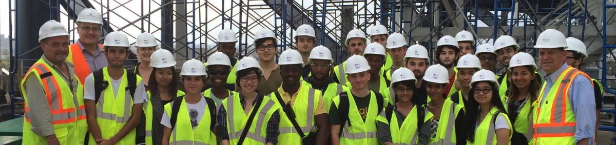 Construction students outing