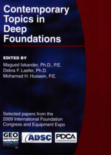 Book about deep foundations