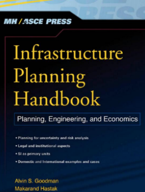 Cover of the infrastructure planning handbook