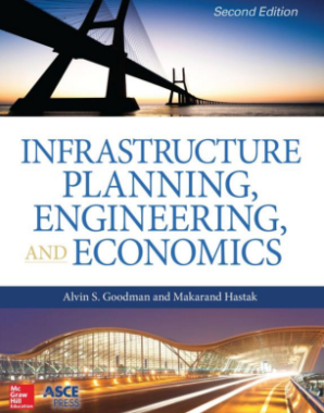 Cover of the infrastructure planning book