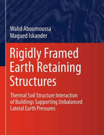 Book about rigidly framed earth structures