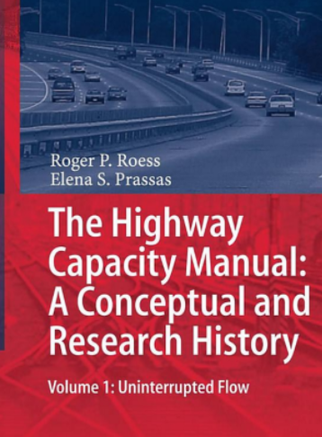 Book about highway capacity