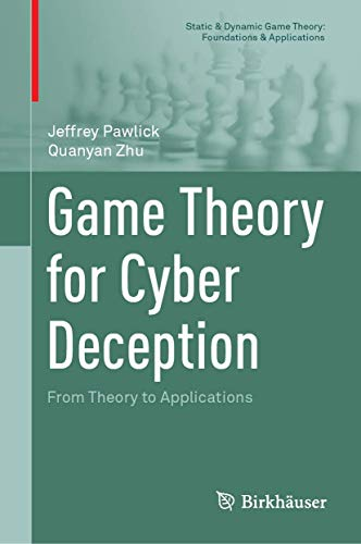 book cover for Game Theory for Cyber Deception